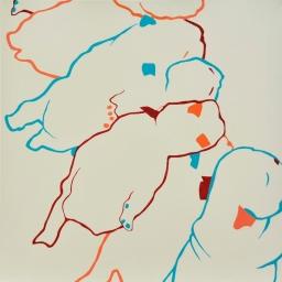 Puppies I (2012) [55x55]