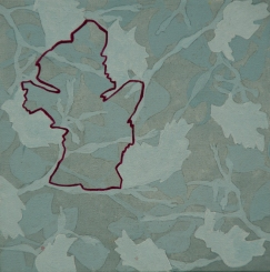 Bladeren I (2010) [20x20]