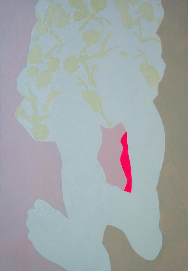 """""""Cadance"""" 70 x 100 cm glanslak op doek 2015"""